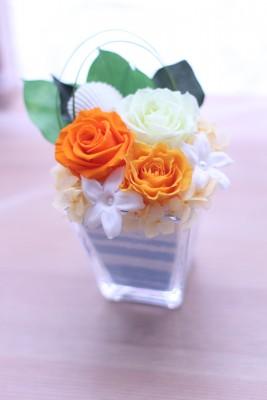 【資格】ガラスベースアレンジ
