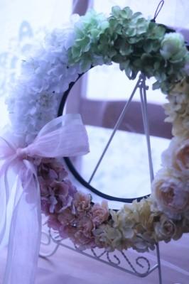 ウェディング ウェルカムリース♡【30cm】