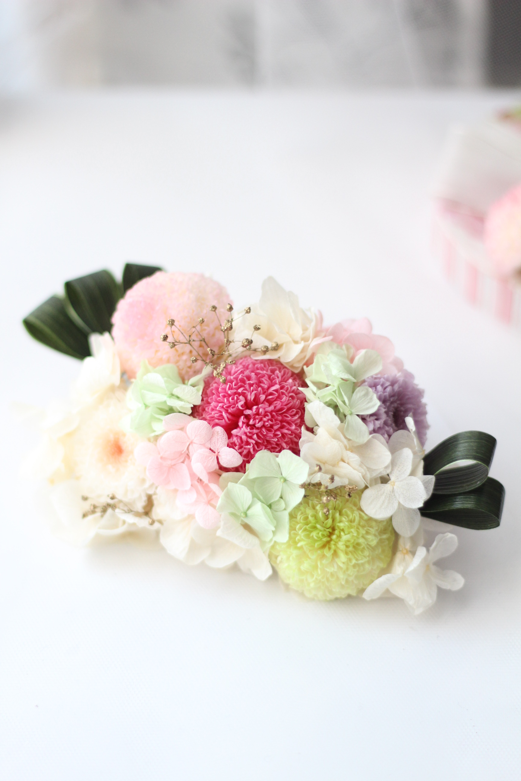 【ブライダル】和花のヘッドドレス