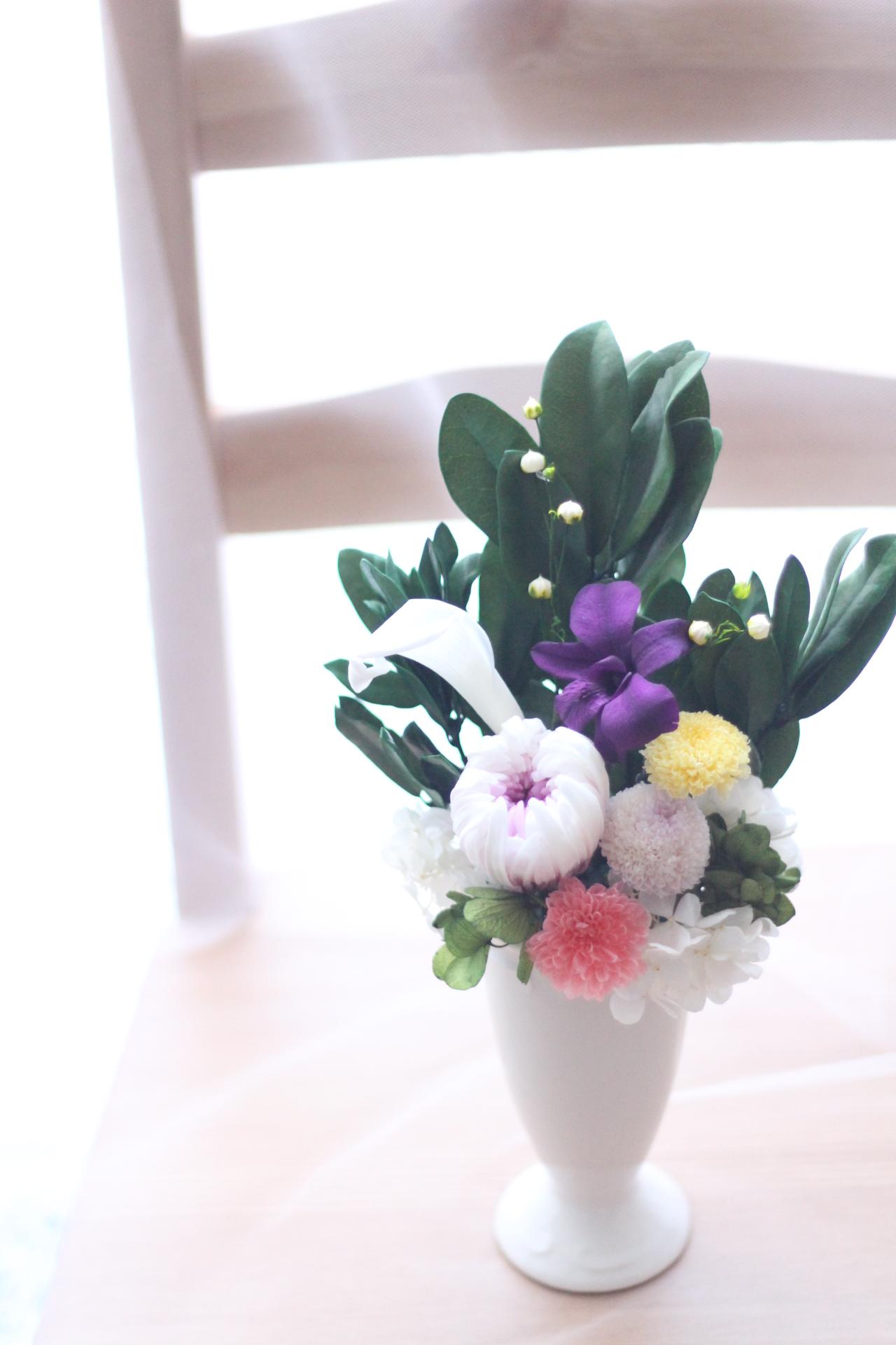 【資格】仏花