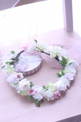 【ブライダル】桜の花冠♡