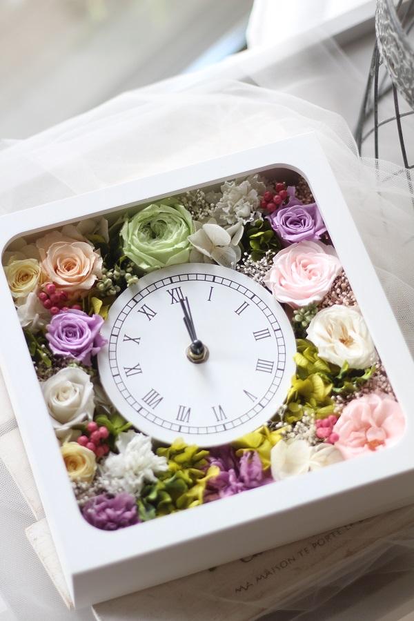 【生徒様作品】花時計