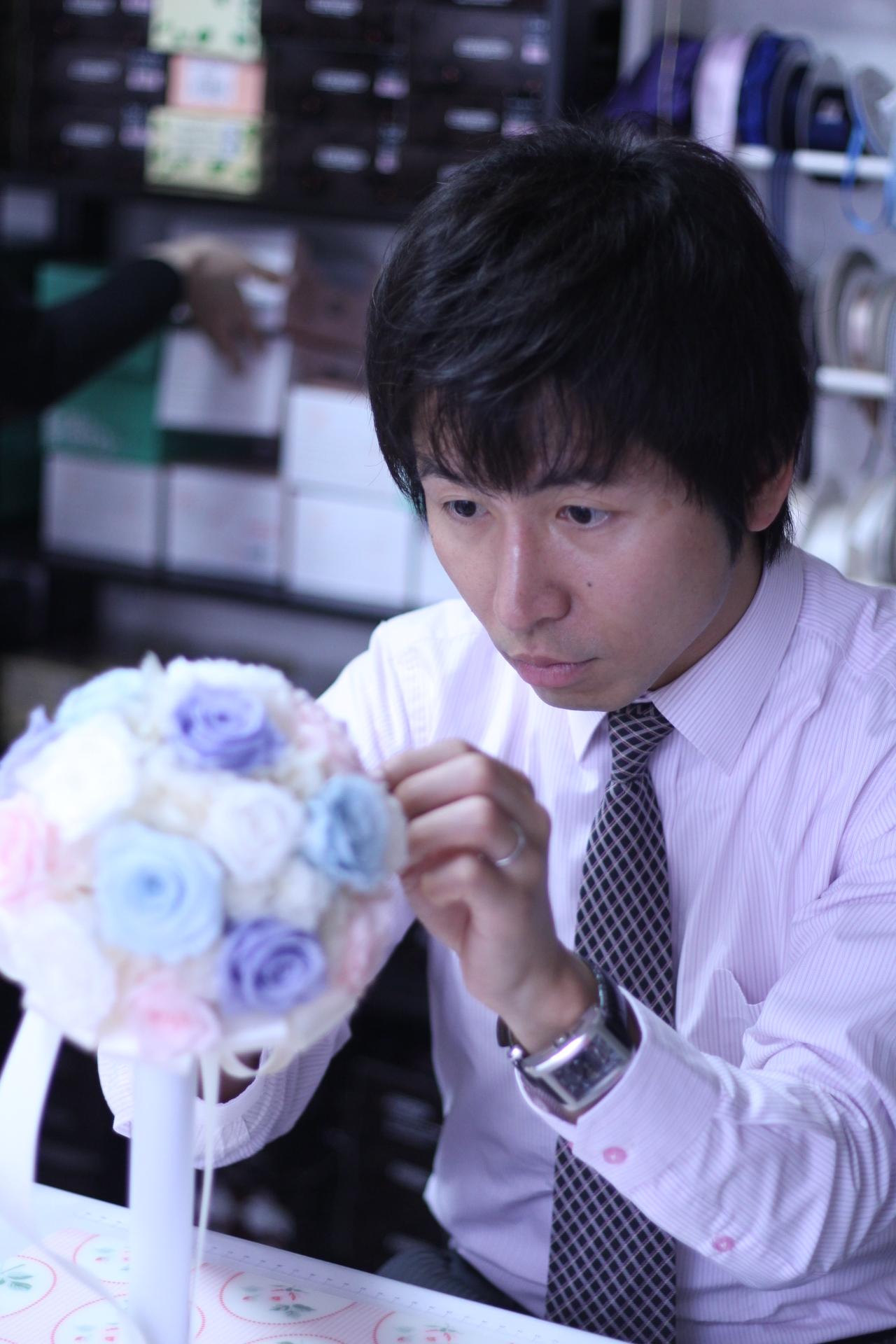 【ブライダル】新婦様へ贈るラウンドブーケ♡