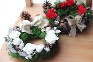 【クリスマス】リース
