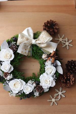 クリスマスリース♡