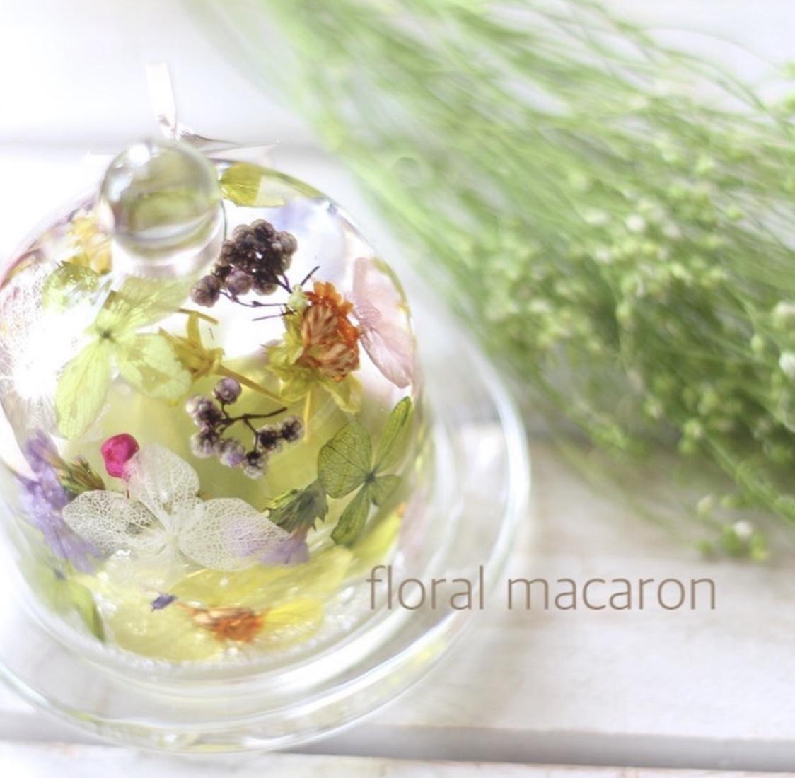 【新タイプのハーバリウム】フラワーガラスドーム♡