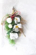 【お正月】椿のスワッグ